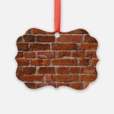 Brick Wall Ornament