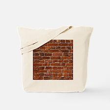Red Brick Wall Tote Bag