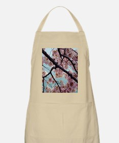 Pink Cherry Blossoms Apron