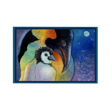 My Little One-Penguin Rectangle Magnet (100 pack)