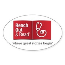 Reach Out and Read with Gray Taglin Decal