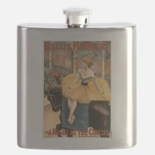 Night at the circus - Strobridge - 1893 Flask