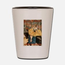 Night at the circus - Strobridge - 1893 Shot Glass
