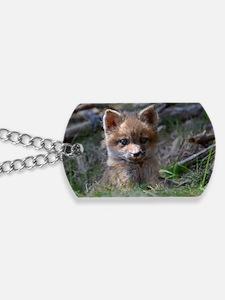 baby fox Dog Tags