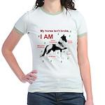 NotBroke Women's Ringer T-Shirt