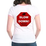 SLOWDown Women's Ringer T-Shirt