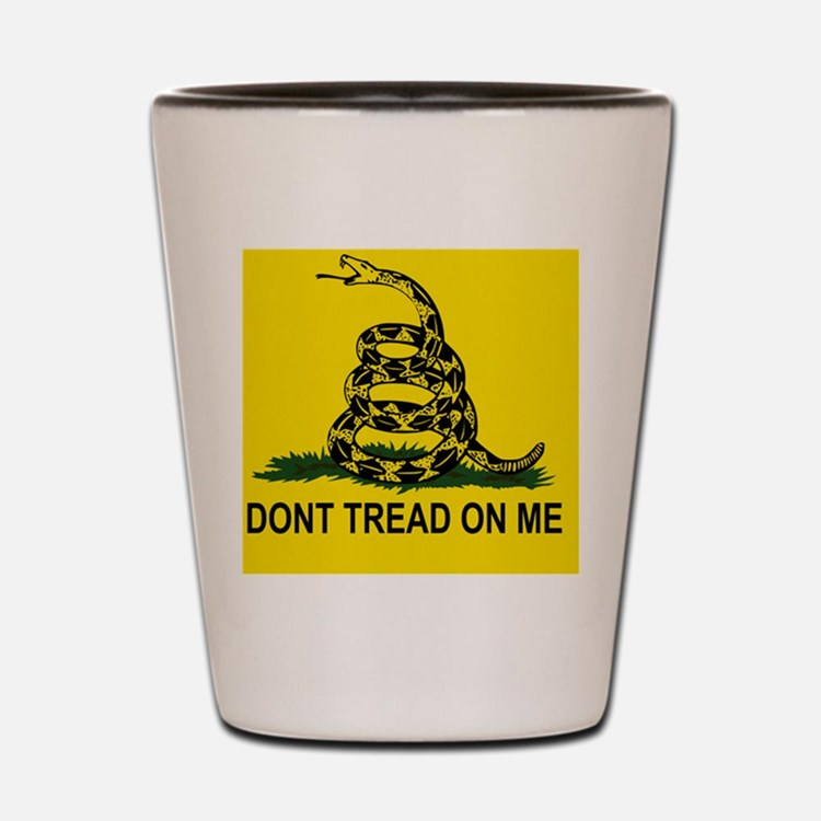 Gadsden Flag Shot Glass
