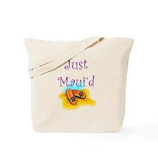 Just Maui'd Flip Flops Tote Bag
