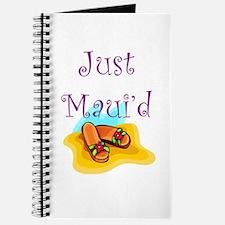 Just Maui'd Flip Flops Journal
