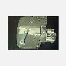 Keystone Movie Camera Rectangle Magnet