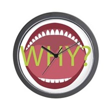 Wide Open Mouth Wall Clock