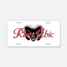 Ram Chic Aluminum License Plate