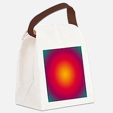 Rising Sun Canvas Lunch Bag
