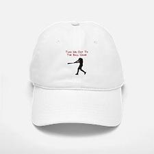 Take me out to the Ball Game Baseball Baseball Cap