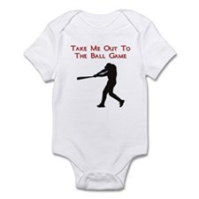 Take me out to the Ball Game Infant Bodysuit