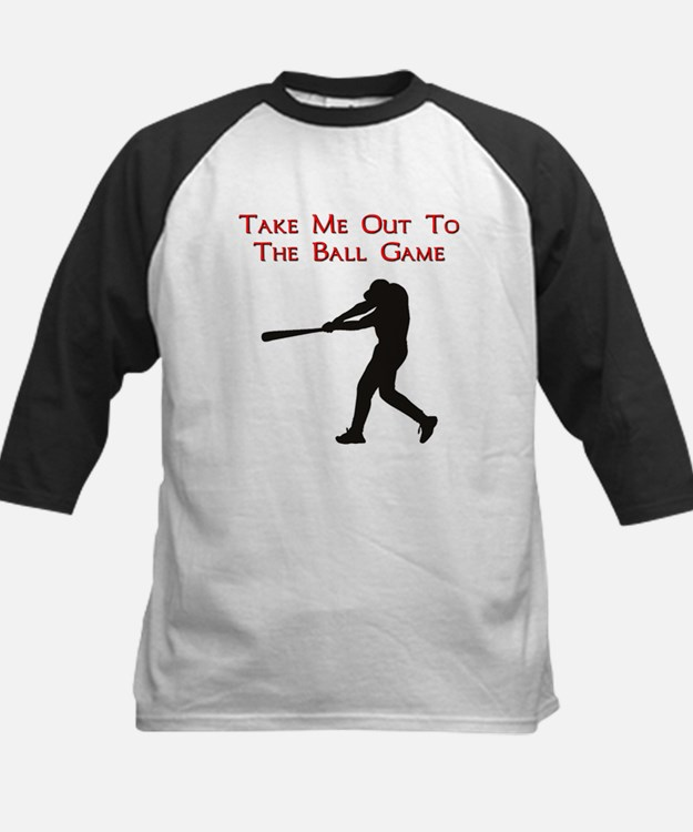 Take me out to the Ball Game Kids Baseball Jersey