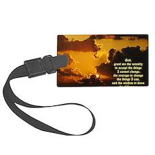Serenity Prayer Luggage Tag