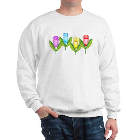GPS Flowers Sweatshirt