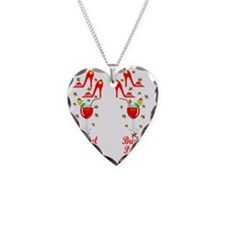 BRIDAL PARTY Necklace Heart Charm