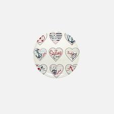 Sailing Love Mini Button