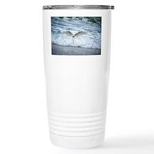 Born of sea-foam Travel Coffee Mug