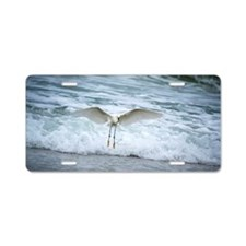 Born of sea-foam Aluminum License Plate