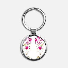 THE BRIDE Round Keychain