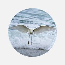 """Born of sea-foam 3.5"""" Button"""