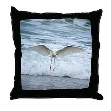 Born of sea-foam Throw Pillow