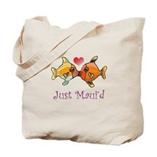 Just Maui'd Tropical Fish Log Tote Bag