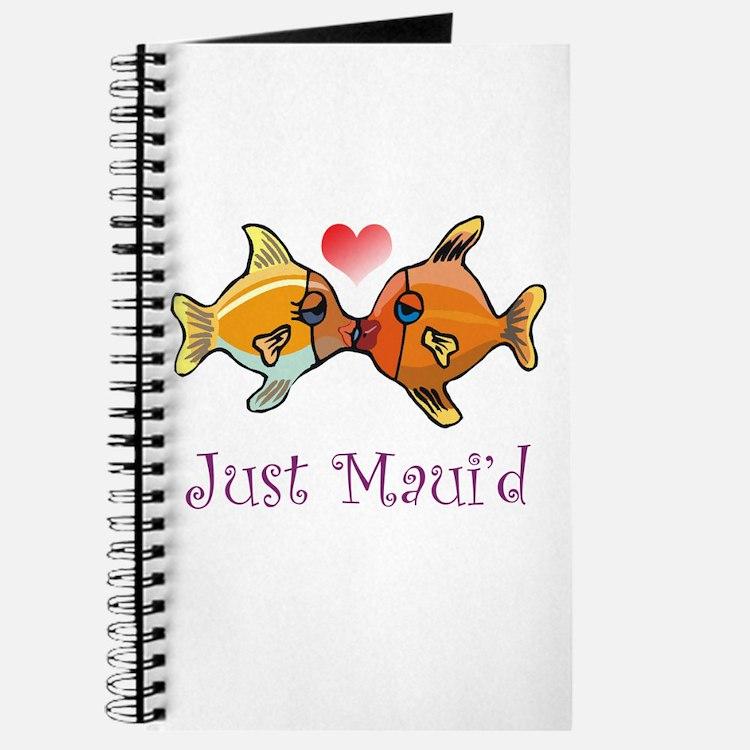 Just Maui'd Tropical Fish Log Journal