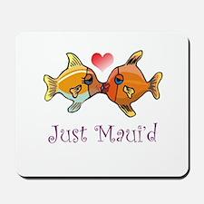 Just Maui'd Tropical Fish Log Mousepad