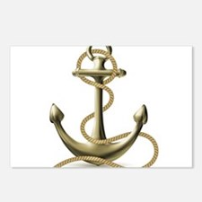 Gold Anchor Postcards (Package of 8)