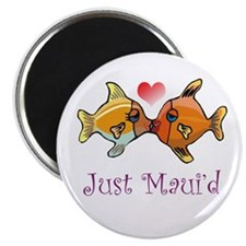 Just Maui'd Tropical Fish Log Magnet