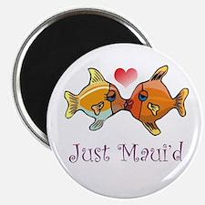 Just Maui'd Tropical Fish Log Magnet
