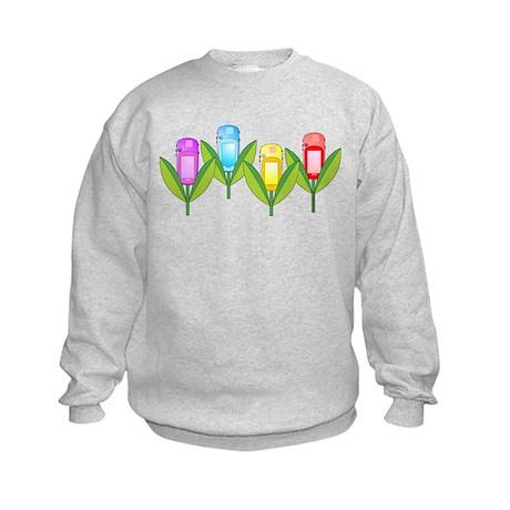 GPS Flowers Kids Sweatshirt