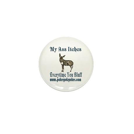 'donkey' PPPL Mini Button (10 pack)
