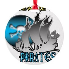 Beware of Pirates Ornament