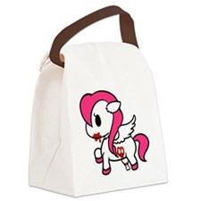 Zombie Pony Canvas Lunch Bag