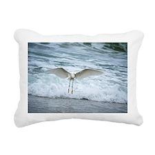 Born of sea-foam Rectangular Canvas Pillow