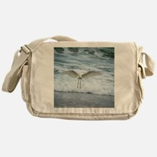 Born of sea-foam Messenger Bag