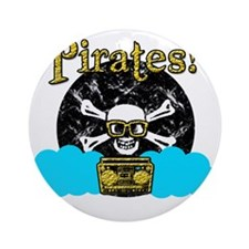 Pirates! Round Ornament