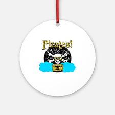 Pirates! Round Ornament