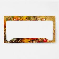 Happy Thanksgiving License Plate Holder