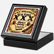 Doc Hollidays Old Time XXX Keepsake Box