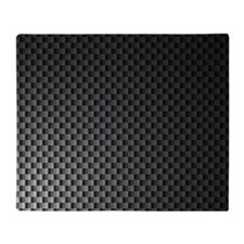 Carbon Fiber Pattern Throw Blanket