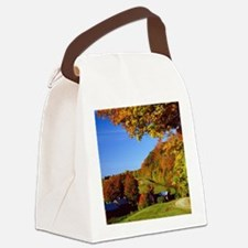 Country Glory in the Fall Canvas Lunch Bag