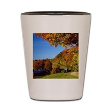 Country Glory in the Fall Shot Glass