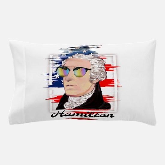 Alexander Hamilton in Color Pillow Case