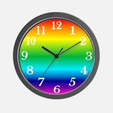 Wall Clock - Rainbow Clock